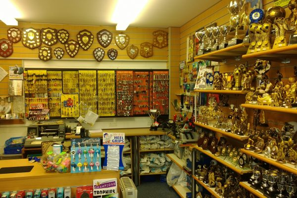Carmarthen Shop inside